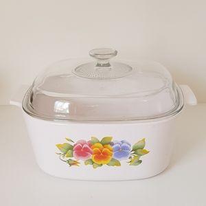 Corningware Summer Blush Vintage 5 litre